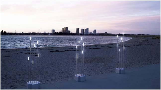 Danskudviklet og produceret solcelledrevet lys til Saudi-Arabiens ørken. Foto: Out-sider.